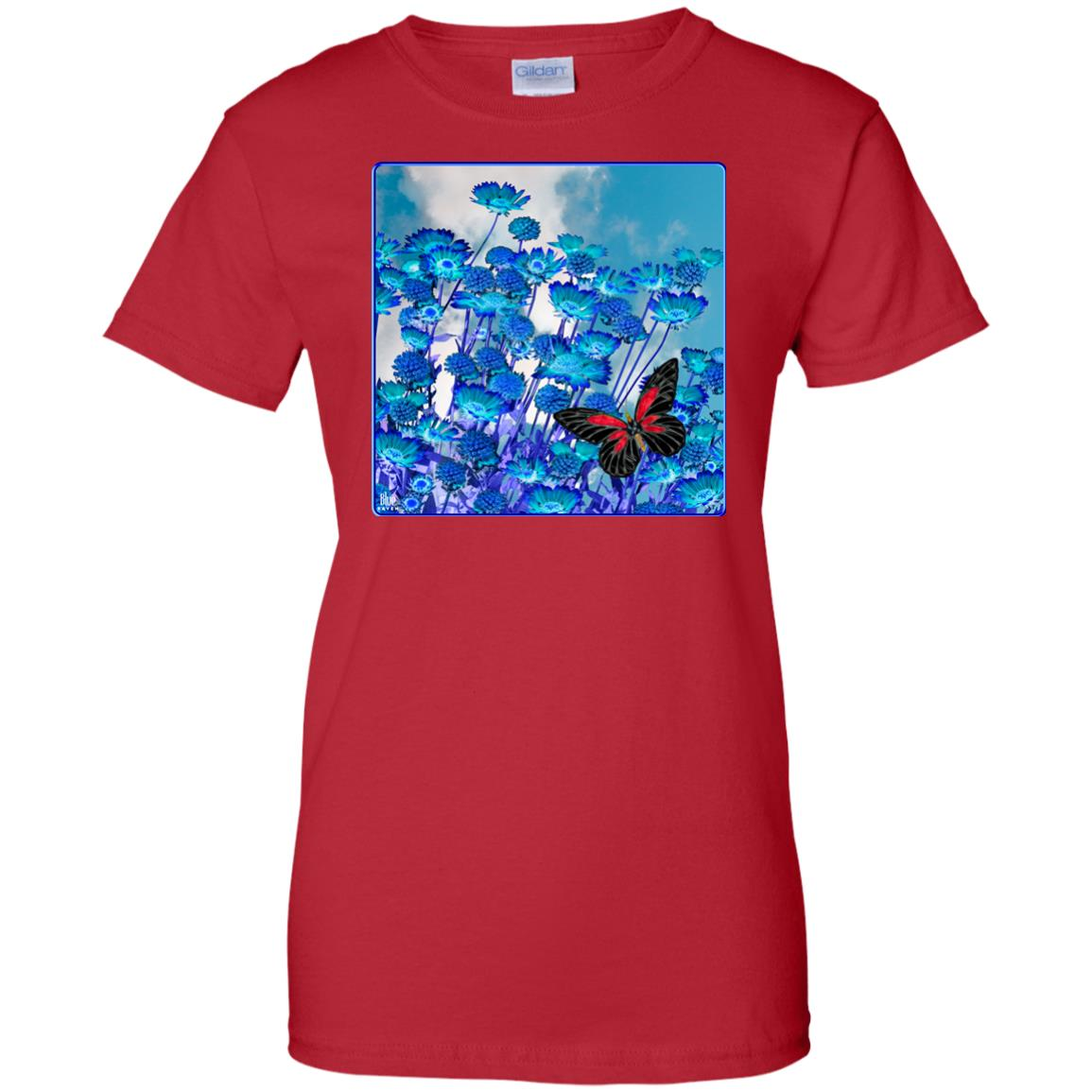 Blue Daisies - Women's Relaxed Fit T-Shirt