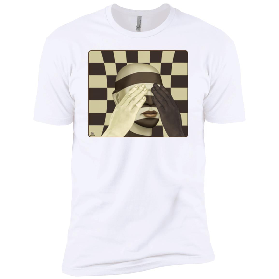 color blind - Men's Premium Fitted T-Shirt