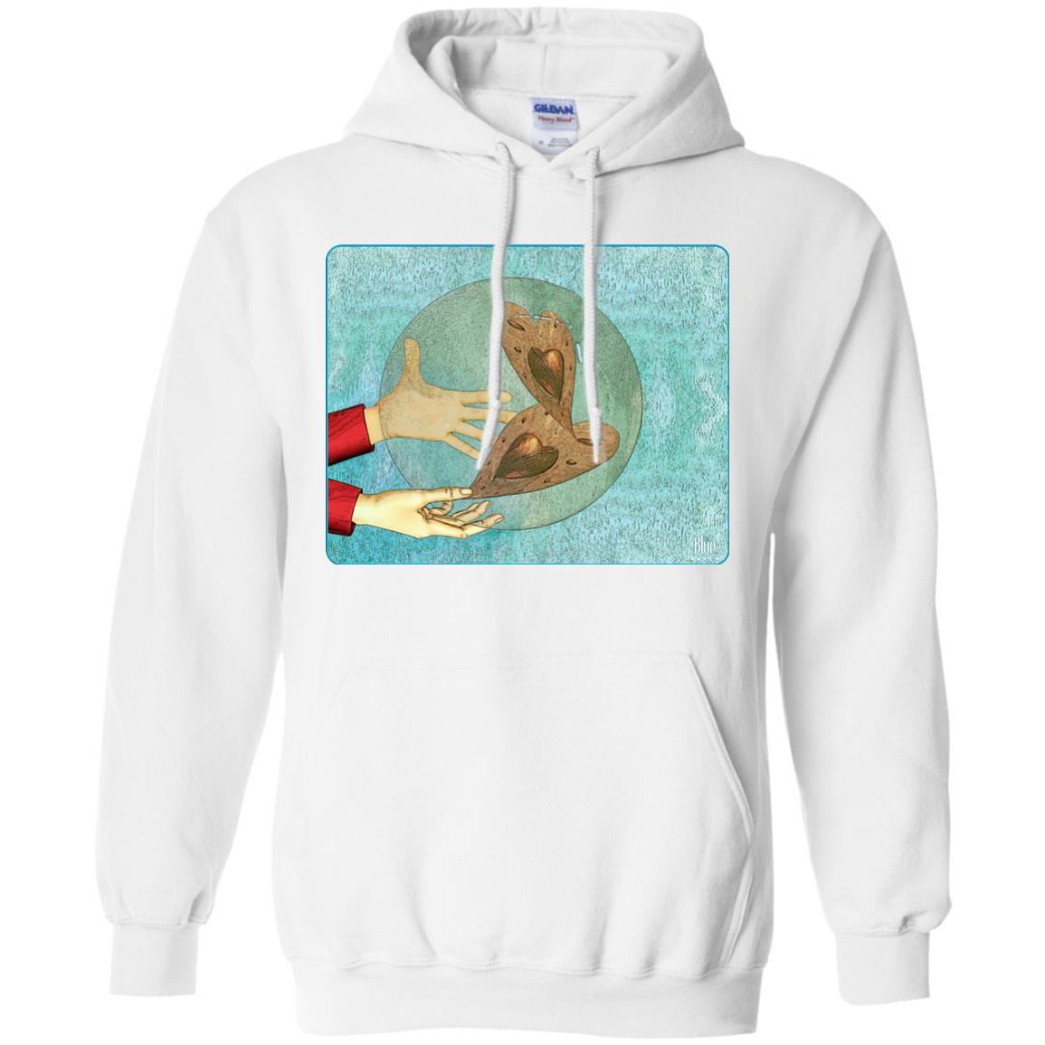 I give my heart - Adult Hoodie