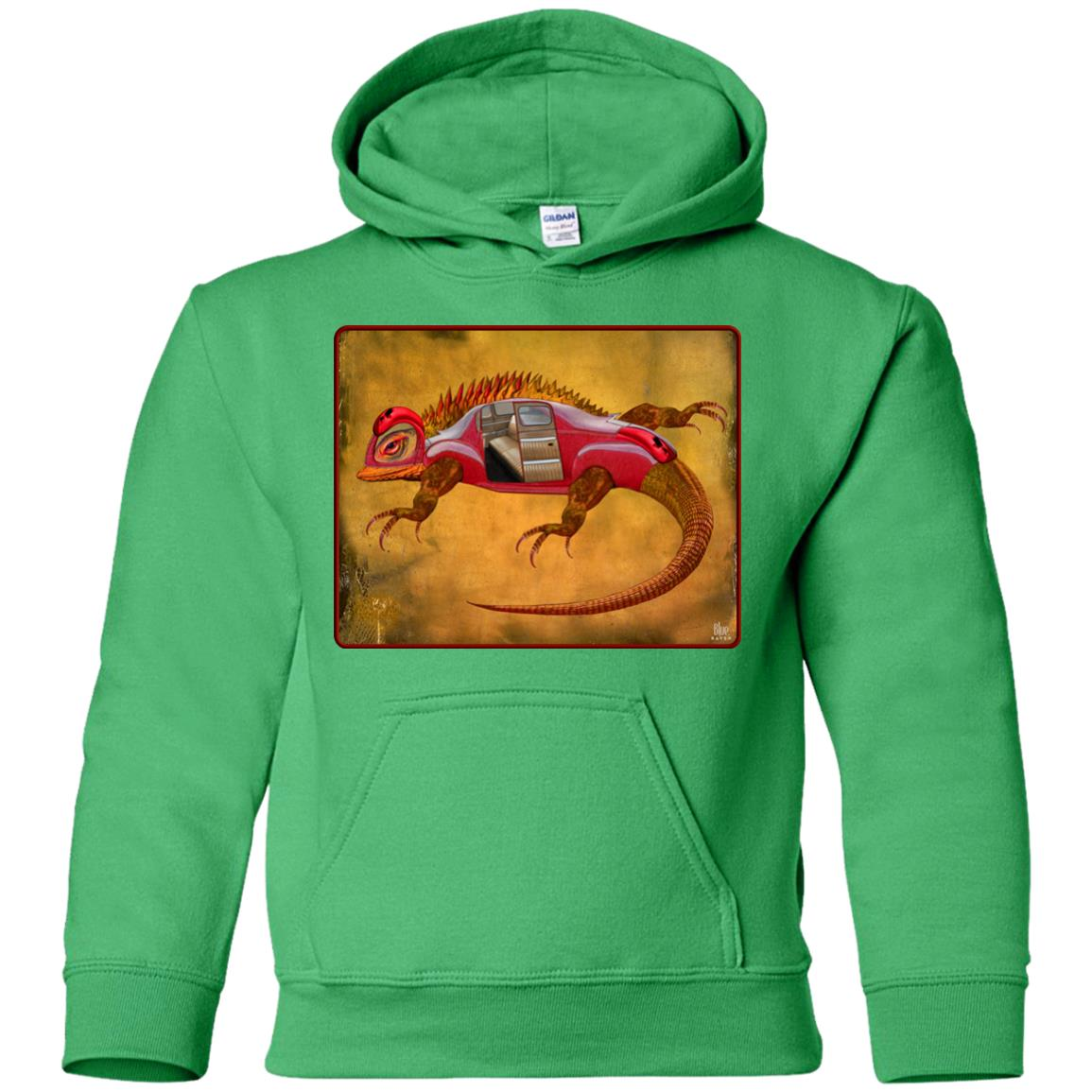 Uber Lizard - red - Youth Hoodie
