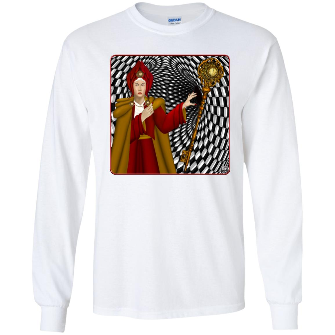 PORTRAIT OF THE RED QUEEN - Youth Long Sleeve T-Shirt
