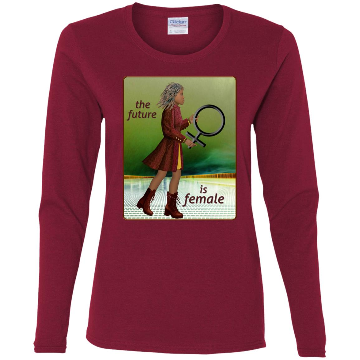 The Future Is Female - Women's Long Sleeve Tee
