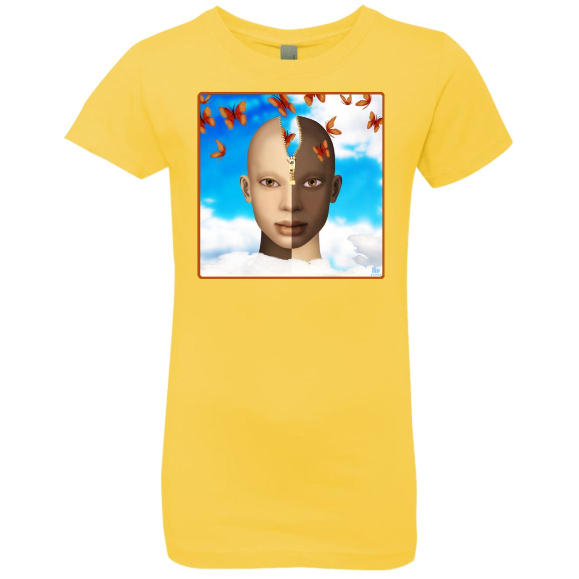 color of our thoughts - Girl's Premium Cotton T-Shirt