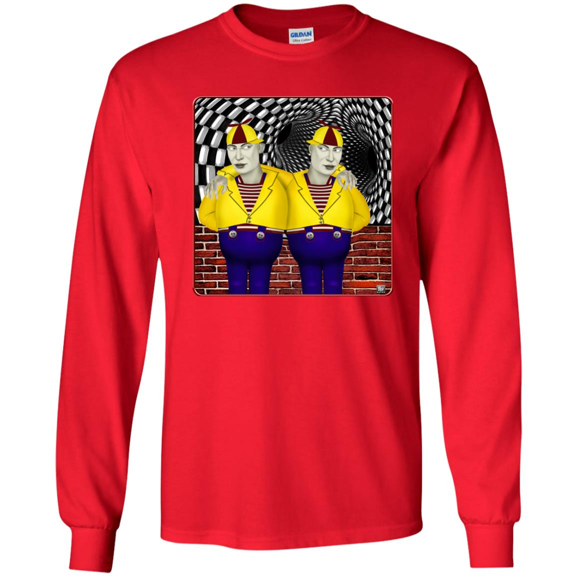 tweedledee and dum - Youth Long Sleeve T-Shirt
