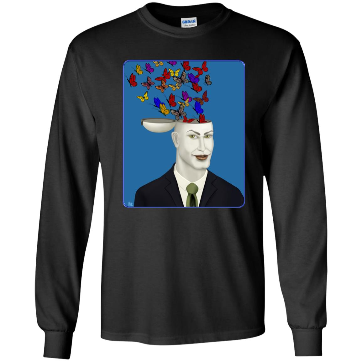 Let Creativity Fly - Youth Long Sleeve T-Shirt