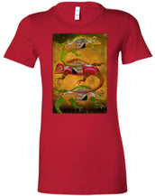 Uber Lizards - Women's Fitted T-Shirt