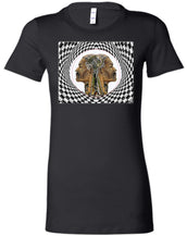 MAN IN THE MACHINE - Women's Fitted T-Shirt