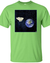 SOMEWHERE OUT THERE - Men's Classic Fit T-Shirt