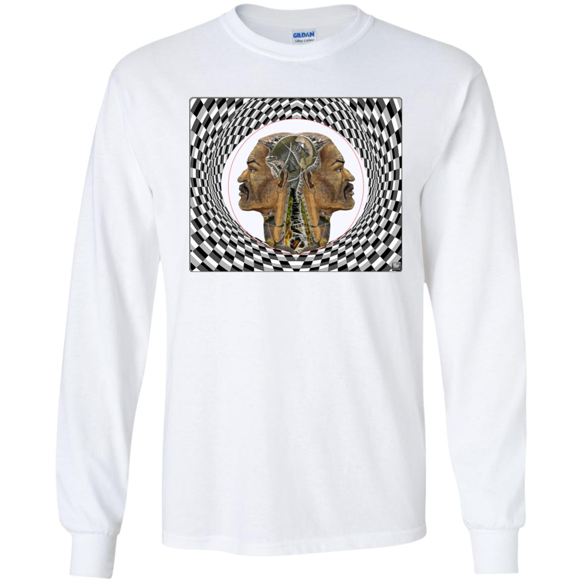 MAN IN THE MACHINE - Youth Long Sleeve T-Shirt