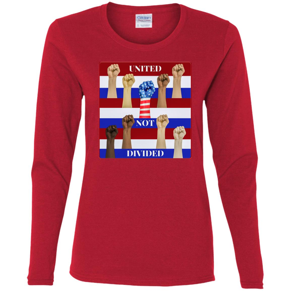 United Not Divided - Women's Long Sleeve Tee