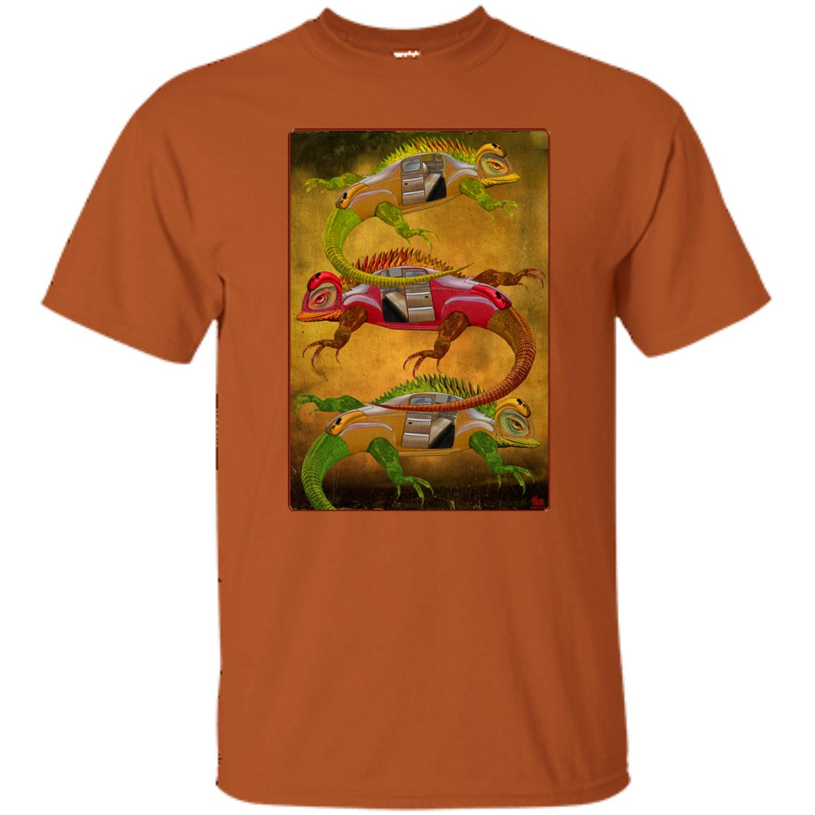 Uber Lizards - Men's Classic Fit T-Shirt