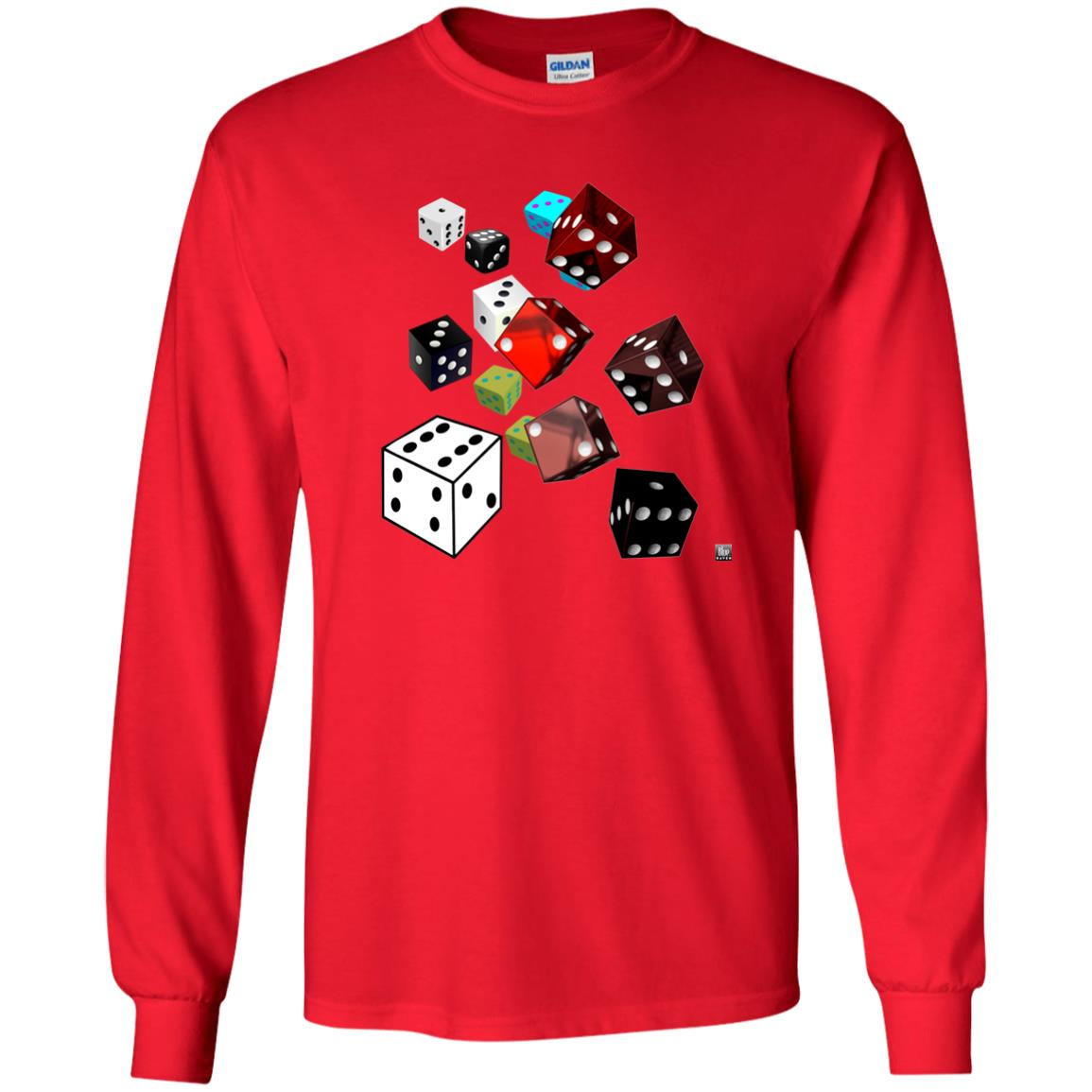 roll of the dice - Youth Long Sleeve T-Shirt