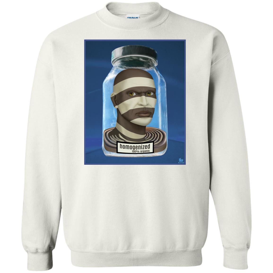 HOMOGENIZED - blue - Men's Crew Neck Sweatshirt