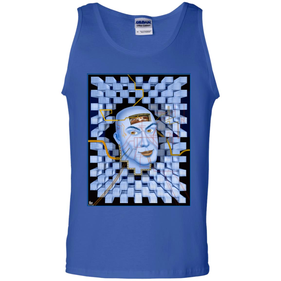 PLUGGED IN - Men's Tank Top