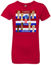 united not divided - Girl's Premium Cotton T-Shirt