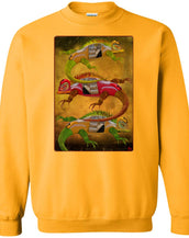 Uber Lizards - Men's Crew Neck Sweatshirt