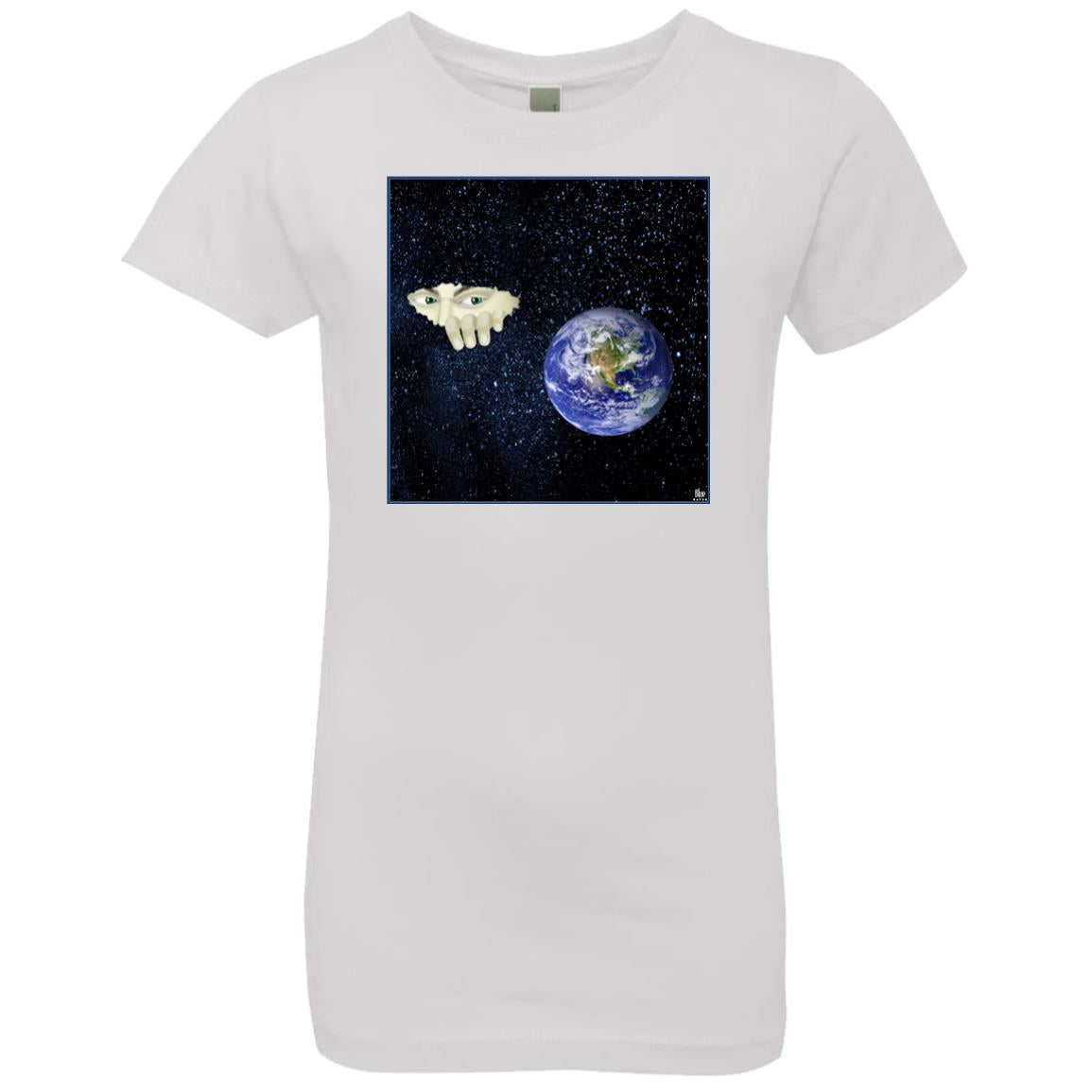 SOMEWHERE OUT THERE - Girl's Premium Cotton T-Shirt