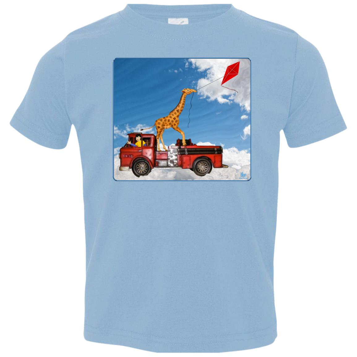 firetruck fun - Premium Toddler T-Shirt