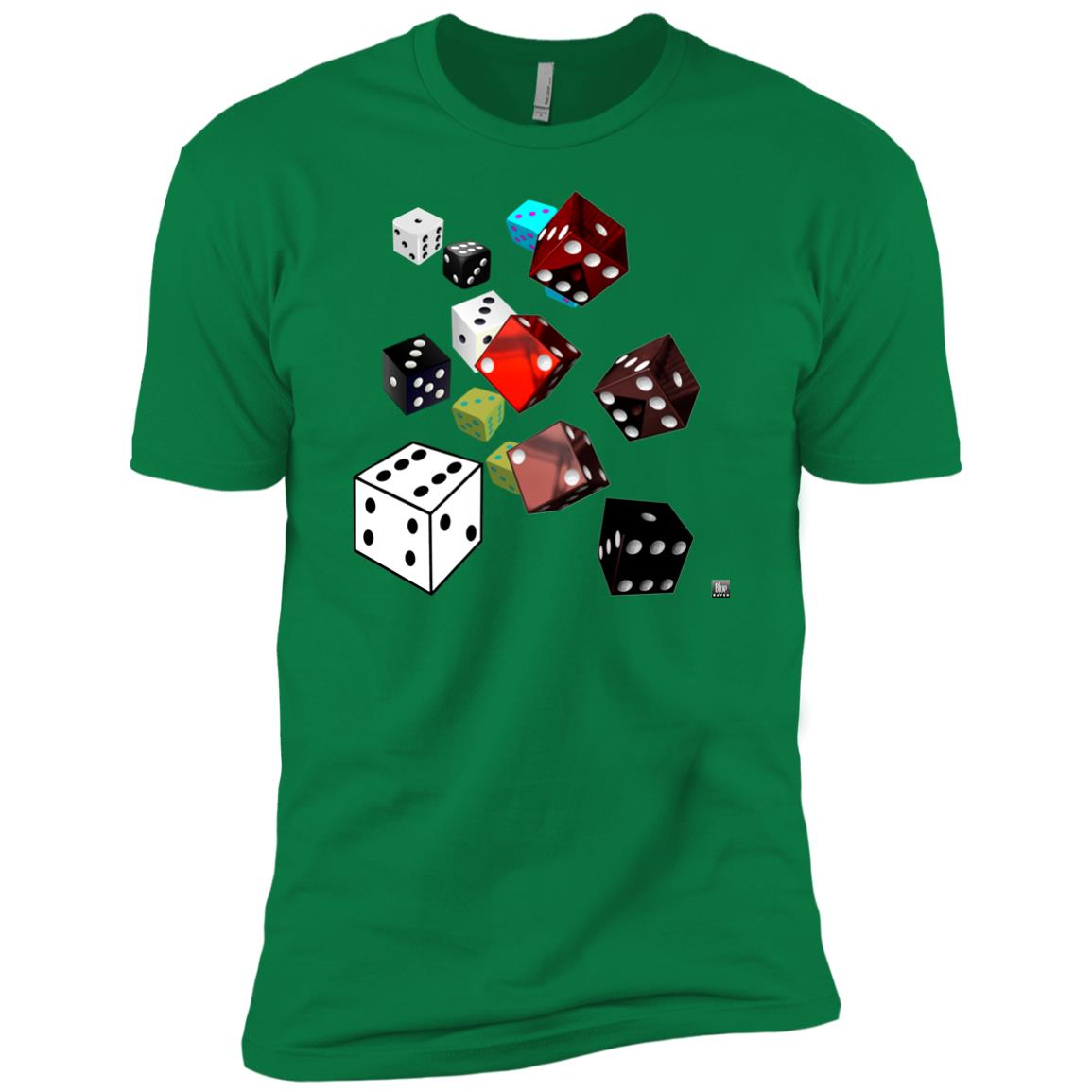 roll of the dice - Men's Premium Fitted T-Shirt