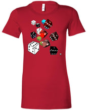 roll of the dice - Women's Fitted T-Shirt