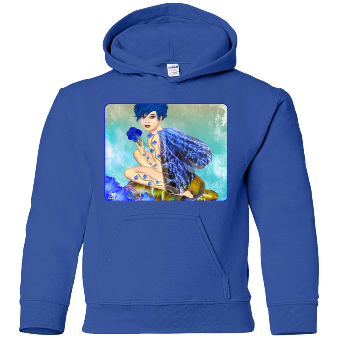 Blue Fairy 2 - Youth Hoodie