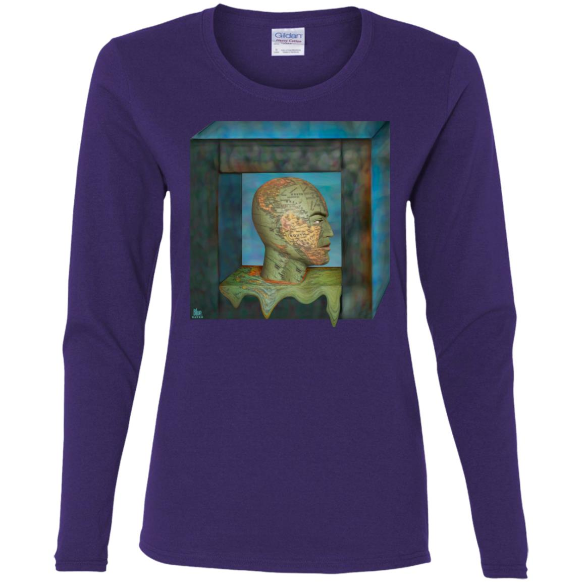 Boxed In - Women's Long Sleeve Tee