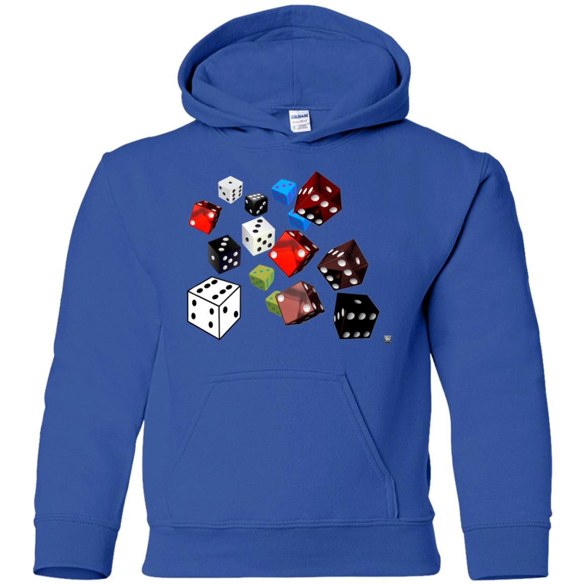 roll of the dice - Youth Hoodie