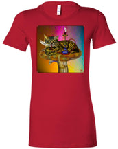 MAGIC MUSHROOM - Women's Fitted T-Shirt