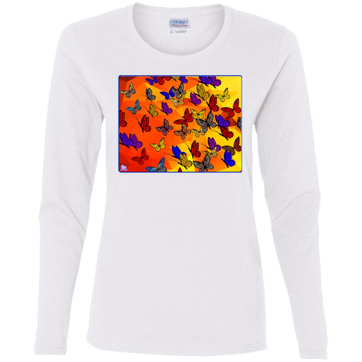 Butterflies - Women's Long Sleeve Tee