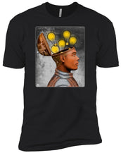Future Humans - grunge - Men's Premium Fitted T-Shirt