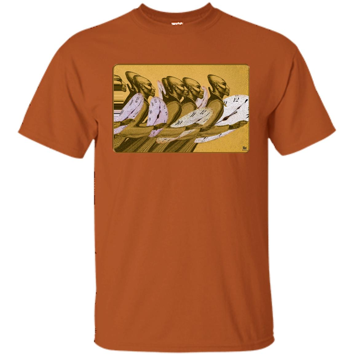 Time Marching On - Gold - Men's Classic Fit T-Shirt