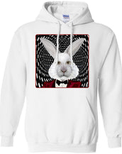 the white rabbit - Adult Hoodie