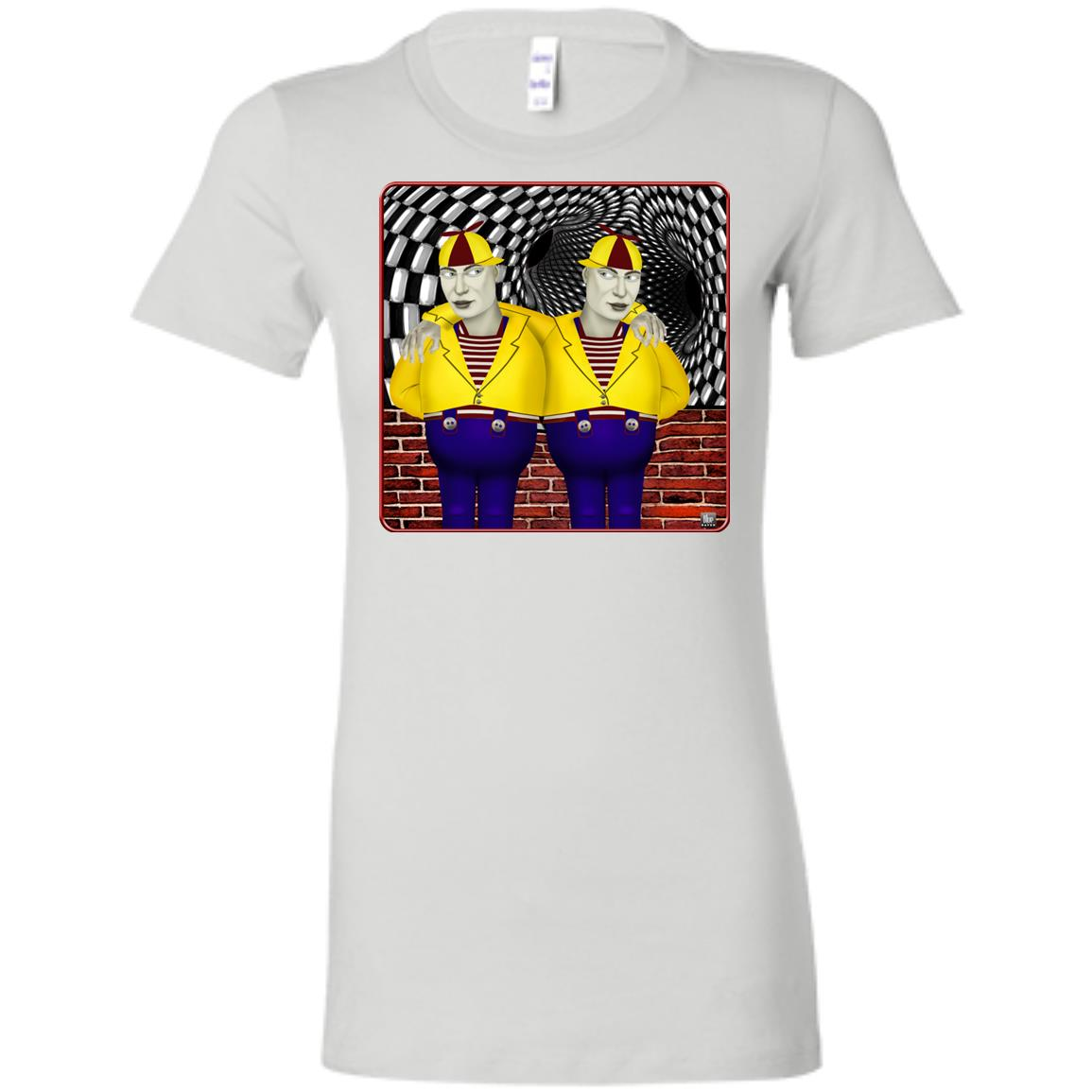 tweedledee and dum - Women's Fitted T-Shirt