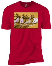 Time Marching On - Gold - Boy's Premium T-Shirt
