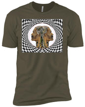 MAN IN THE MACHINE - Men's Premium Fitted T-Shirt