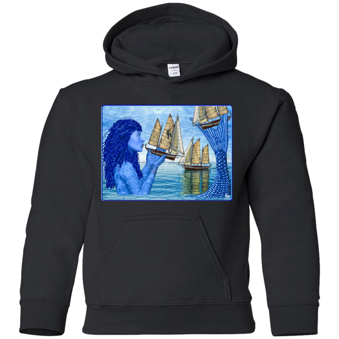 I Saw Three Ships - Youth Hoodie