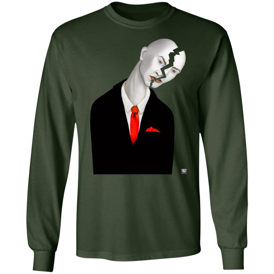 Cracked Up - Men's Long Sleeve T-Shirt