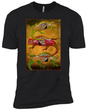 Uber Lizards - Boy's Premium T-Shirt