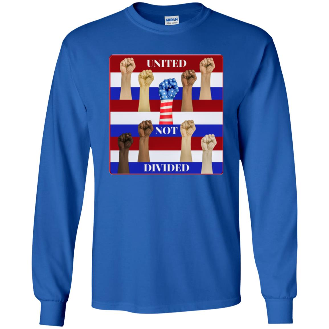 united not divided - Youth Long Sleeve T-Shirt