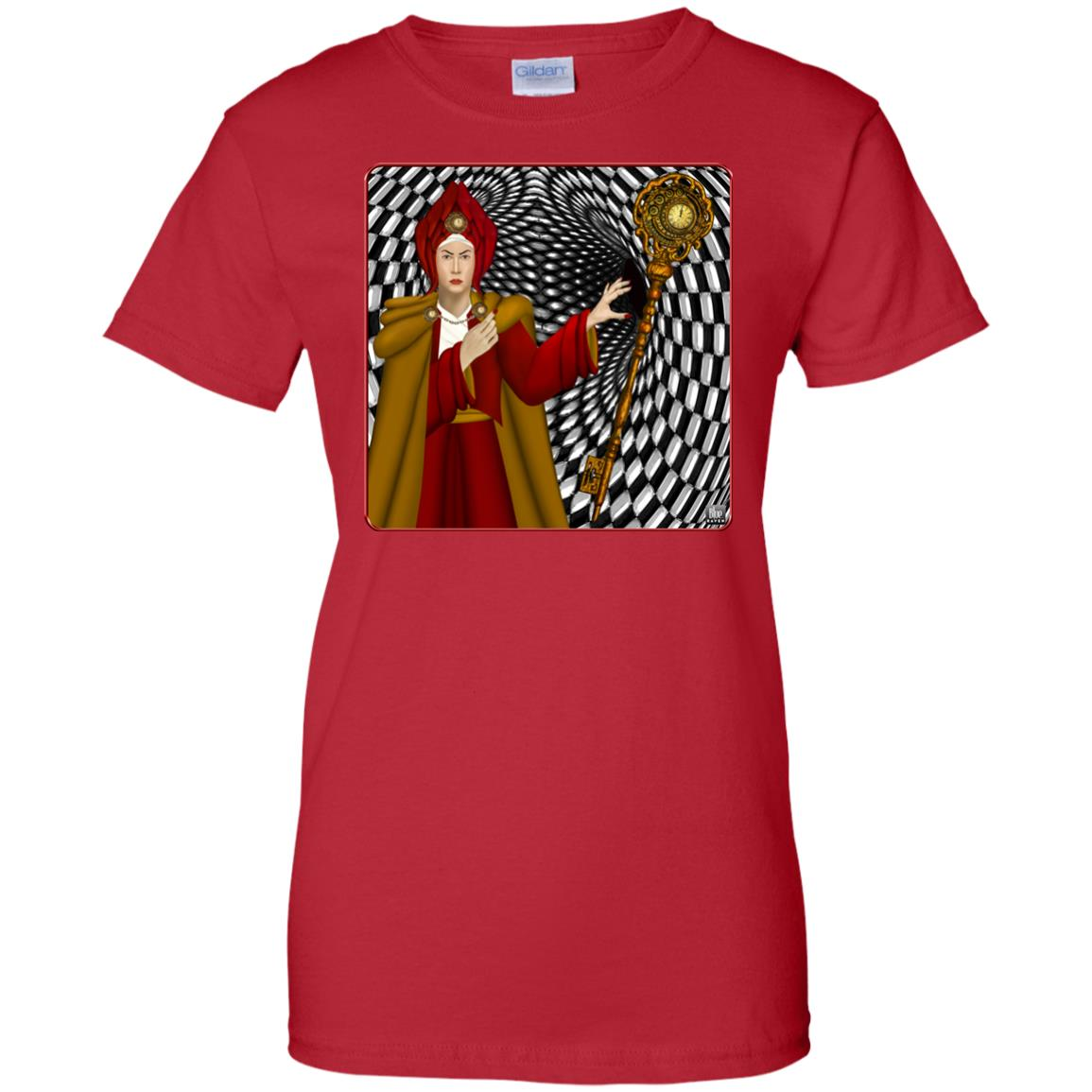 PORTRAIT OF THE RED QUEEN - Women's Relaxed Fit T-Shirt