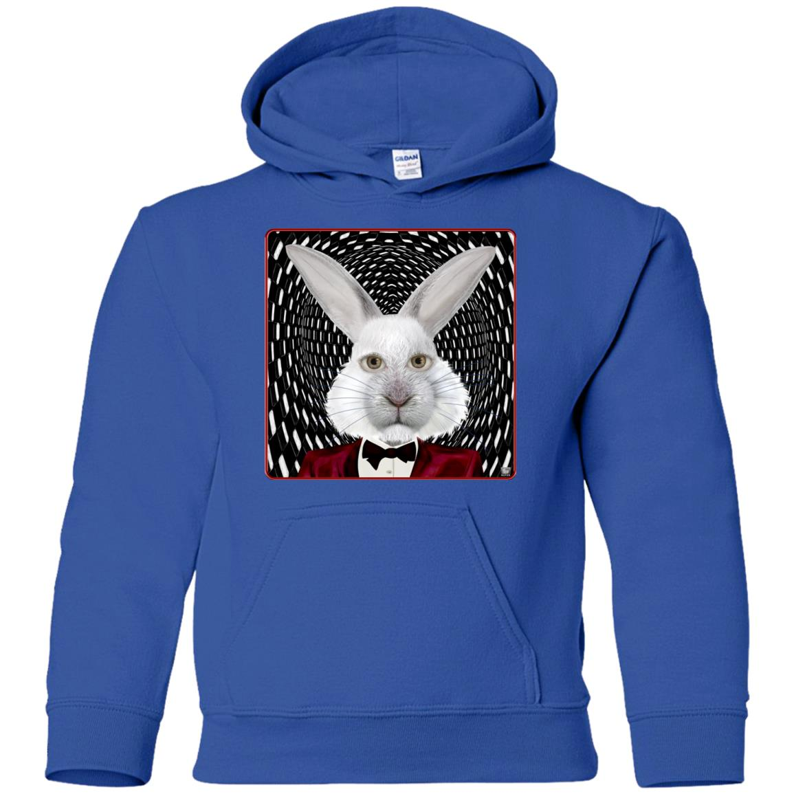 the white rabbit - Youth Hoodie