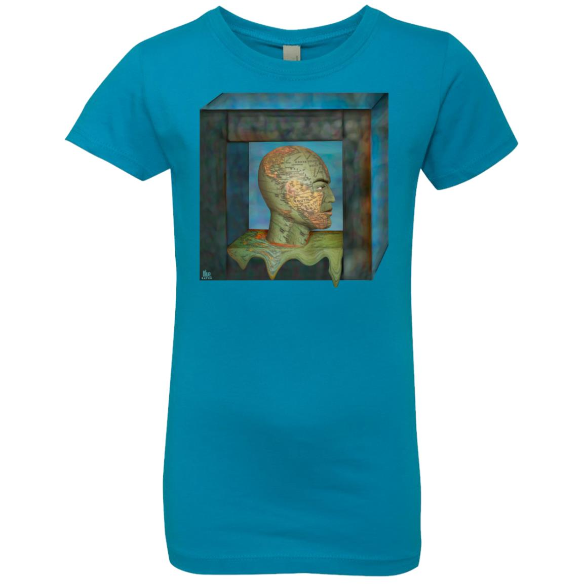 boxed in - Girl's Premium Cotton T-Shirt