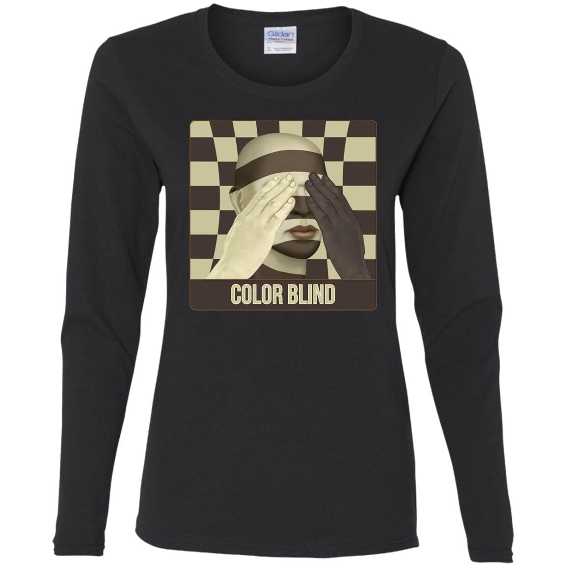 Color Blind - Women's Long Sleeve Tee