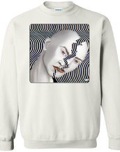 cracked until coffee - Men's Crew Neck Sweatshirt