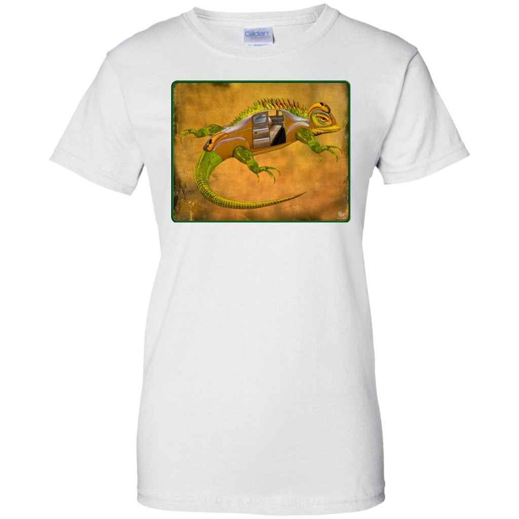 Uber Lizard - green - Women's Classic Fit T-Shirt