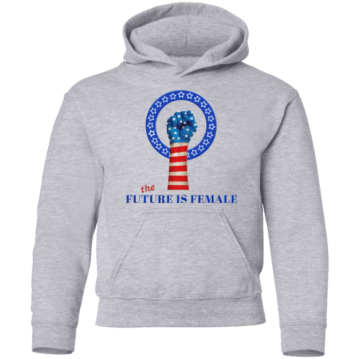 Future Is Female - Youth Hoodie