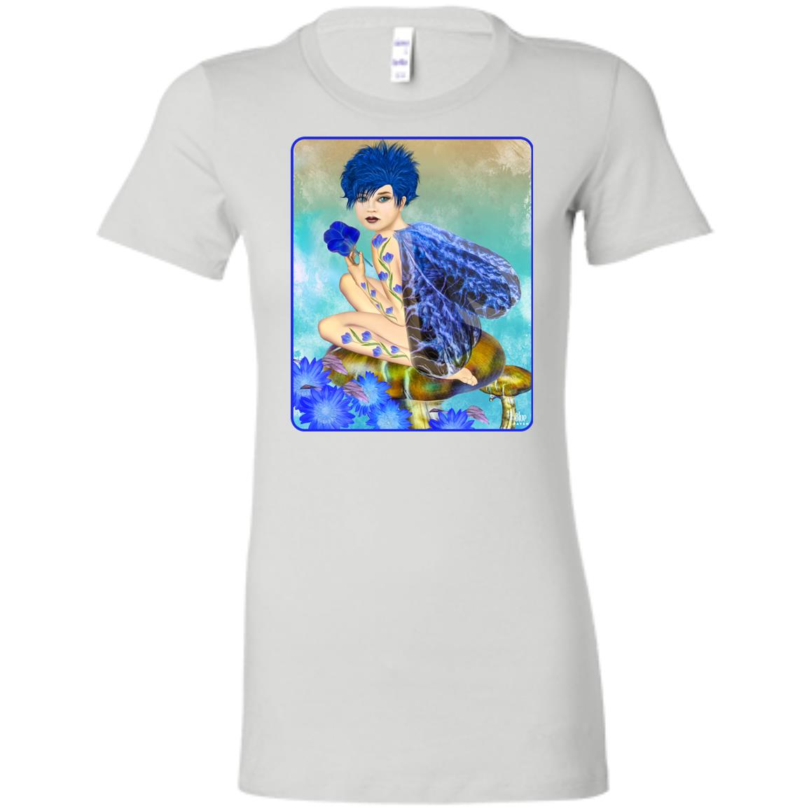 Blue Fairy 2 - Women's Fitted T-Shirt