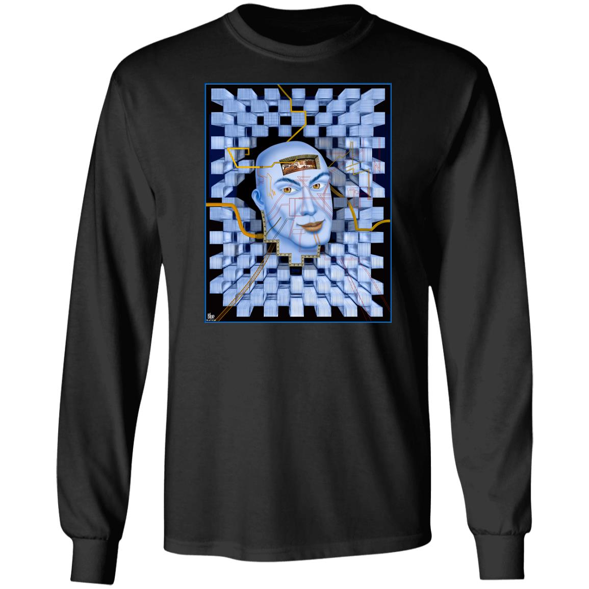 Plugged In - Men's Long Sleeve T-Shirt