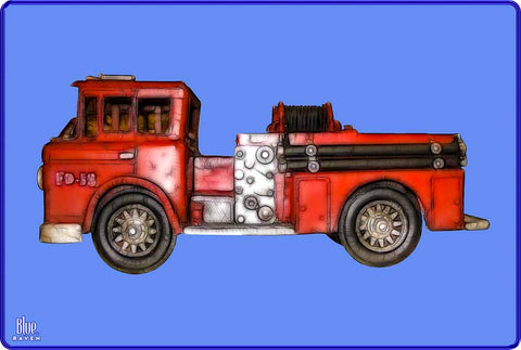 Firetruck - Premium Toddler T-Shirt