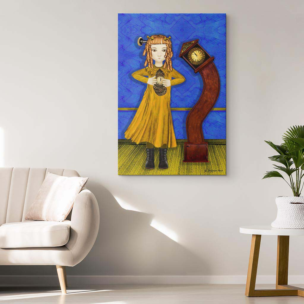 Internal Clock - Canvas art print